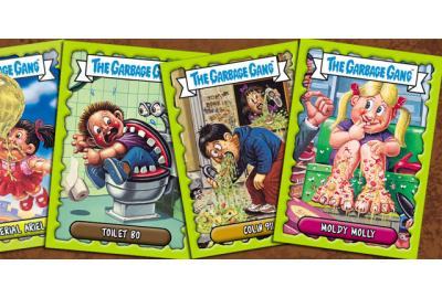GARBAGE GANG TRADING CARD GAME LAUNCH