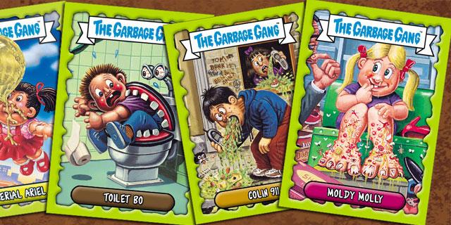 GARBAGE GANG TRADING CARD GAME LAUNCH