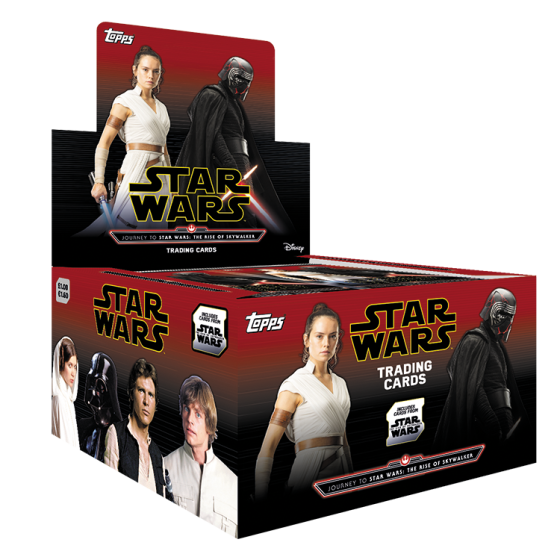Star Wars Journey To The Rise Of Skywalker Display Box 36 Packets