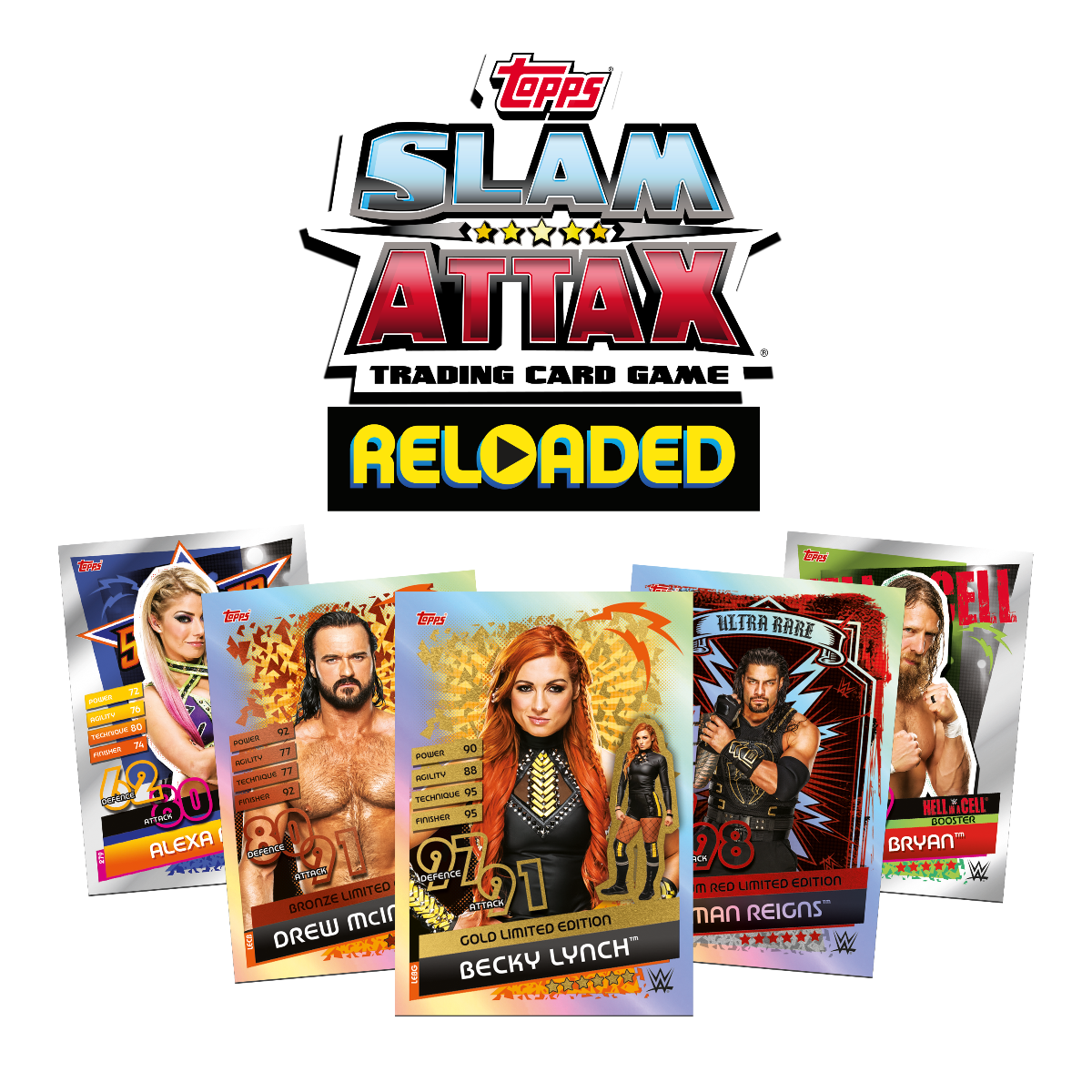 Slam Attax Reloaded-acabadores Tarjetas