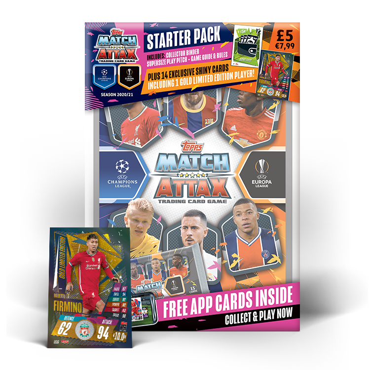 Match Attax 20 21 Free Starter Pack