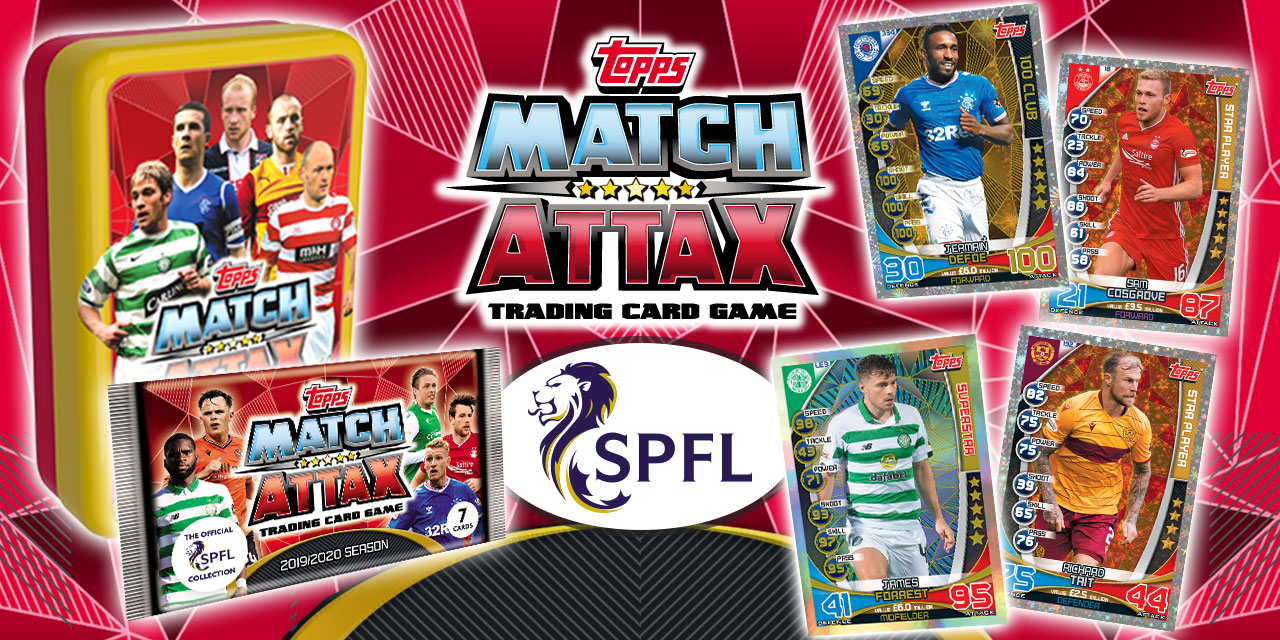 SPFL MATCH ATTAX! OUT NOW