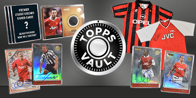 UNLOCK THE TOPPS VAULT!